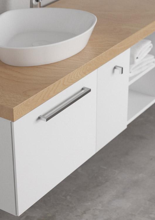 Maniglia 3130 maniglie di design mital for Maniglie per mobili moderni