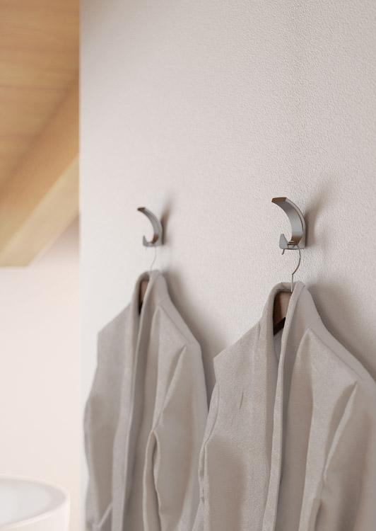 Appendiabiti da parete 1130 portabiti di design mital - Appendiabiti da parete di design ...