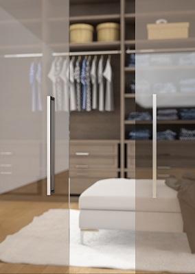 Maniglie in metallo alluminio e acciaio maniglia cucina per porte - Maniglie plastica per mobili ...