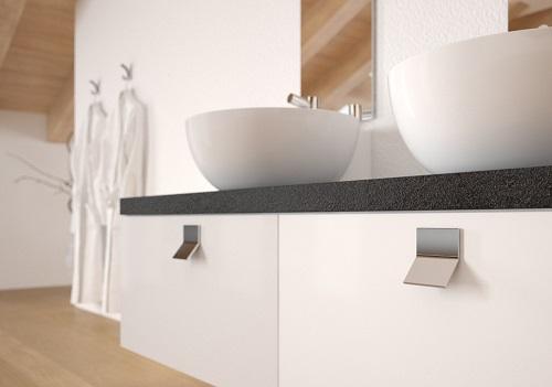 Maniglie in metallo alluminio e acciaio maniglia cucina - Maniglie cucina acciaio ...