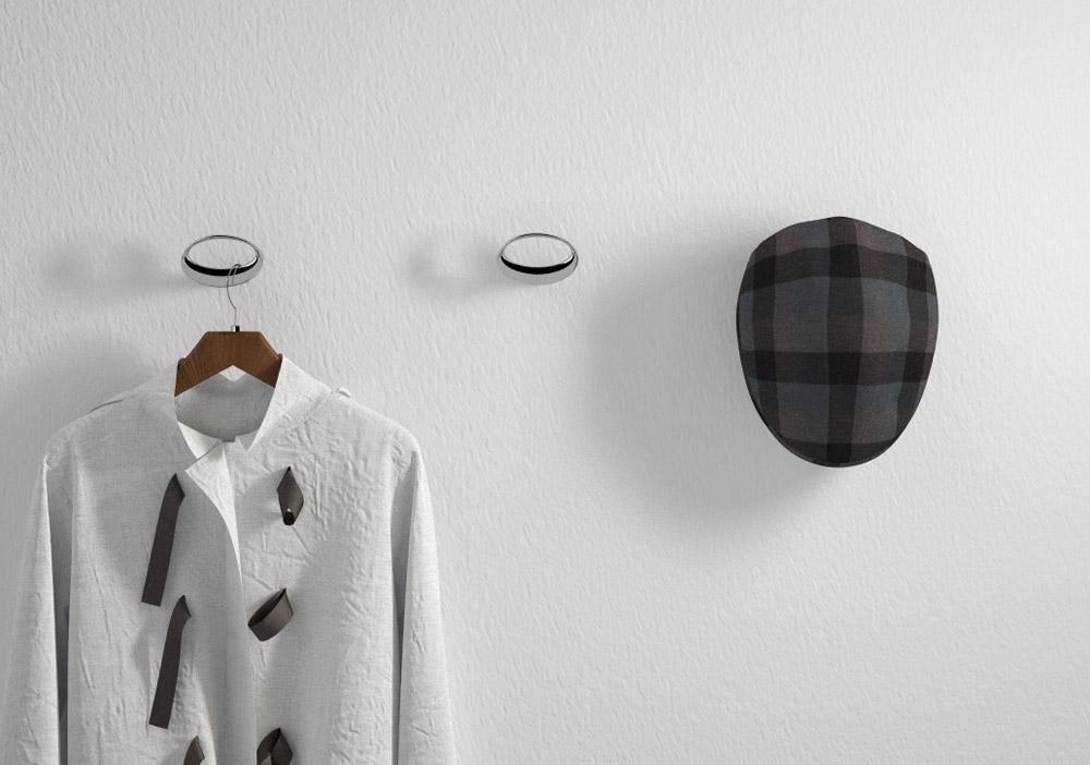 Coat hook 1140 mital design coat hooks for Designer coat hooks