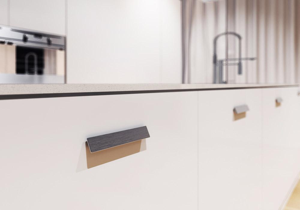 Handle 3420 mital design handles - Maniglie sportelli cucina ...